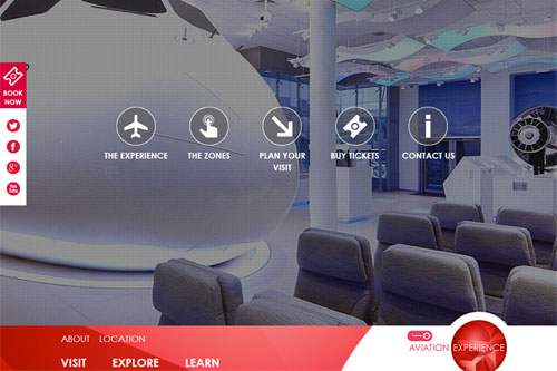 Client project - Flight simulator - linglau.com - pui-ling lau - web developer and web designer - Kent and London